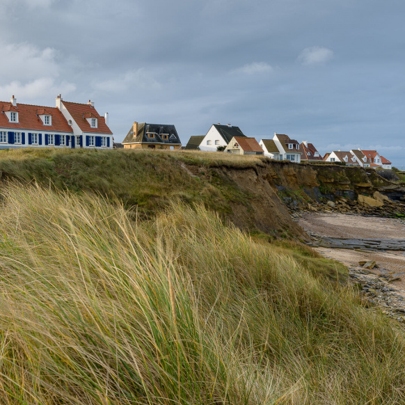 Houses Audresselles beach